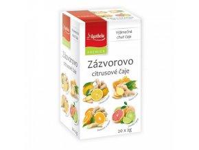 Apotheke PREMIER Zázvorovo-citrusové čaje 4v1 4x5x2g