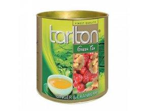 Tarlton zelený čaj ZÁZVOR, BRUSINKA 100g
