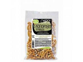 Chipsy s konopným semínkem a chilli 100g