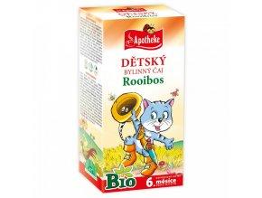 Apotheke Dětský čaj rooibos BIO 20x1,5g