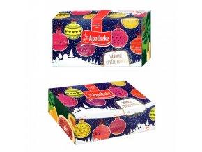 Apotheke Dárková kolekce čajů Vánoční 96ns