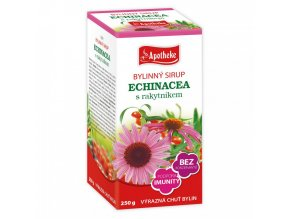 Apotheke sirup Echinacea s rakytníkem 250g