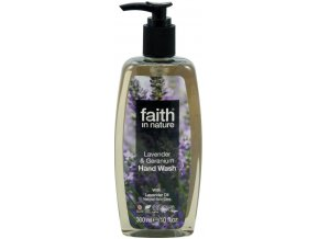 Faith in Nature BIO Tekuté mýdlo Levandule&Pelargonie HA 300 ml