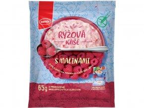 Rýžová kaše malinová 65g