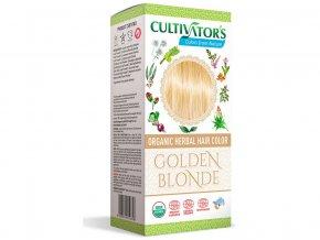 Bio přírodní barva na vlasy 100% 1 - Zlatá Blond 100g