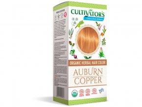 Bio přírodní barva na vlasy 100% 5 - Světle hnědá - měděná 100g