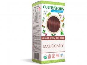Bio přírodní barva na vlasy 100% 16 - Mahagonová 100g