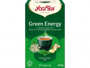Bio Zelená energie rovnováha Yogi Tea 17 x 1,8 g