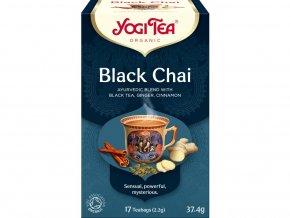 Bio Černý chai Yogi Tea 17 x 2,2 g