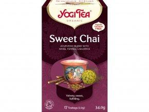 Bio Sladký chai Yogi Tea 17 x 2 g