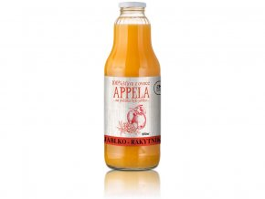 Jablko - rakytník 1l - 100% přírodní šťáva