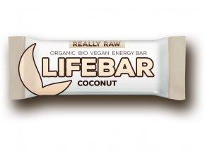 Bio tyčinka Lifebar kokosová 47g