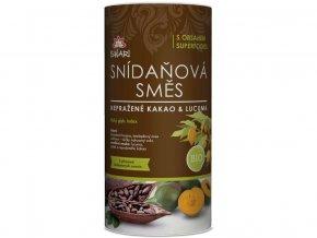 Bio snídaňová směs nepražené kakao & lucuma 800 g