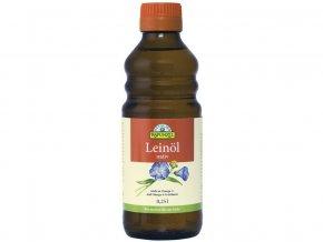 Bio lněný olej lisovaný za studena 250ml