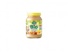 Bio Dětská výživa broskvová s banány OVKO 190g