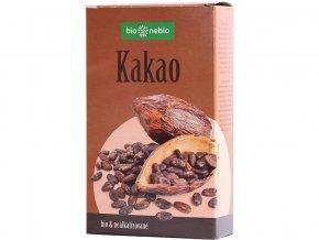 Bio kakaový prášek se sníženým obsahem tuku 150g