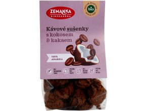 Bio Kávové sušenky s kokosem 100 g