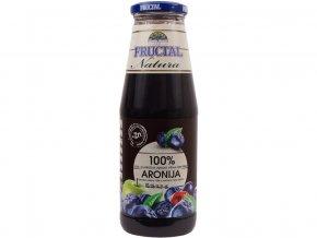 Šťáva NATURA z hroznů, jablek, višní, aronie a černého bezu 0,7l
