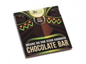 Bio čokoláda z nepraženého kakaa 80% kakao raw 35g