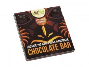 Bio čokoláda z nepraženého kakaa 95% kakao se skořicí raw 35g
