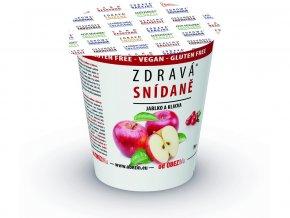 Zdravá snídaně - Jablko / brusinka 78g