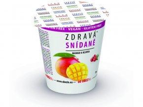 Zdravá snídaně - Mango / brusinka 78g