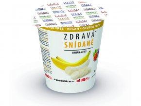Zdravá snídaně - banán/fíky 78g