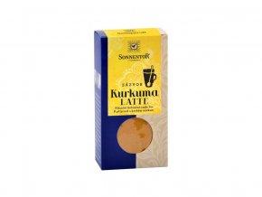 Bio Kurkuma Latte-zázvor 60g krabička (Pikantní kořeněná směs)