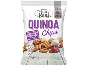Quinoa chipsy – sušené rajče a restovaný česnek 30g