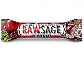 Bio tyčinka Rawsage original - snack bar pikantní  25g