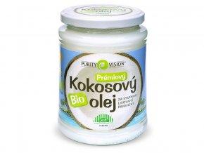 Bio Kokosový olej panenský 600ml