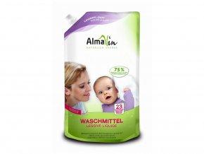 AlmaWin Tekutý prášek na praní v ekonomickém balení 1,5l