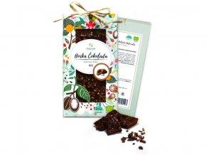 Bio čokoláda s kakaovými boby - hořká 80g