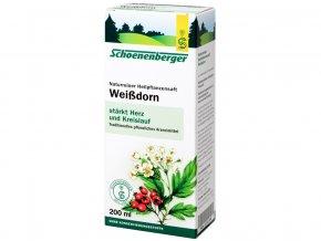 Bio čerstvá rostlinná šťáva Schoenenberger - Hloh 200ml