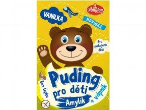 Puding vanilkový pro děti Amylon 40g- bez lepku