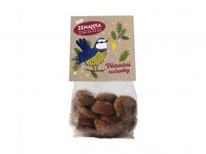 Bio vánoční sušenky s vlašskými ořechy a kořením 100g