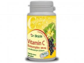 Vitamín C 500 Biokomplex s rakytníkem, černým rybízem a lípou 60 tbl.
