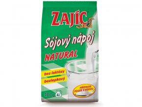 Sójový nápoj Zajíc natural 400g sáček