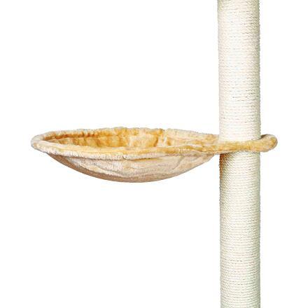 Náhradní odpočívadlo - lehátko ke škrábadlu kulaté 40 cm, max. do 4,5 kg, béžové