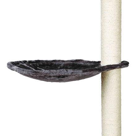 Náhradní odpočívadlo - lehátko ke škrábadlu kulaté 40 cm, max. do 4,5 kg, šedé