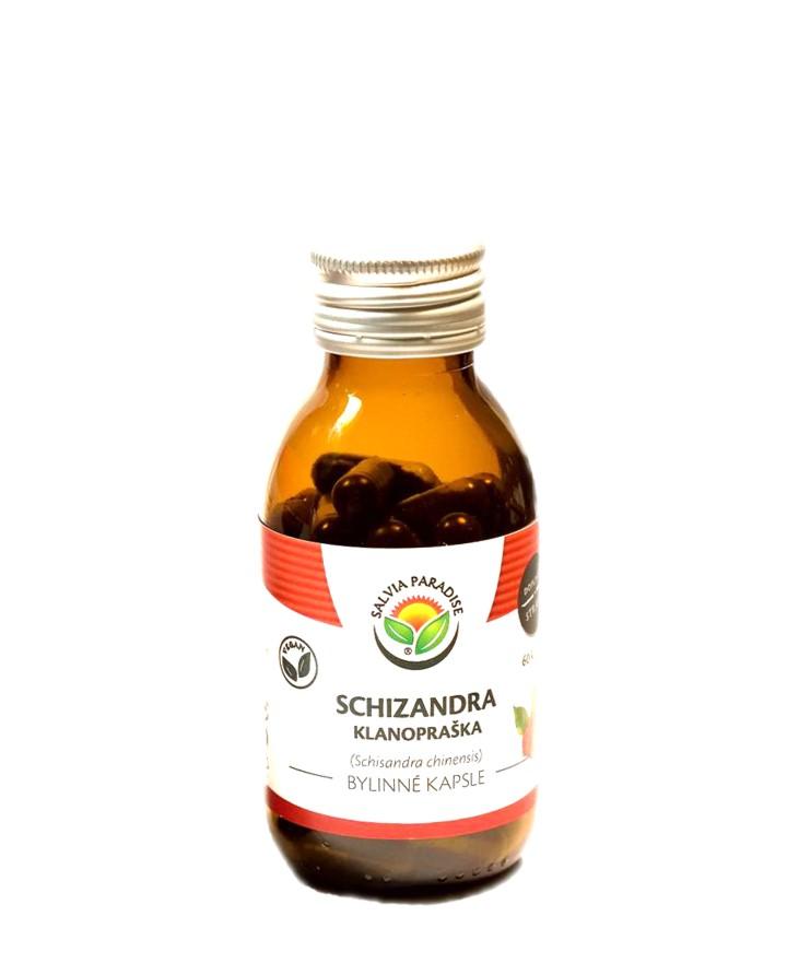 Schizandra bylinné kapsle Balení: 120 ks