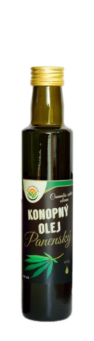 Konopný olej panenský Balení: 500 ml