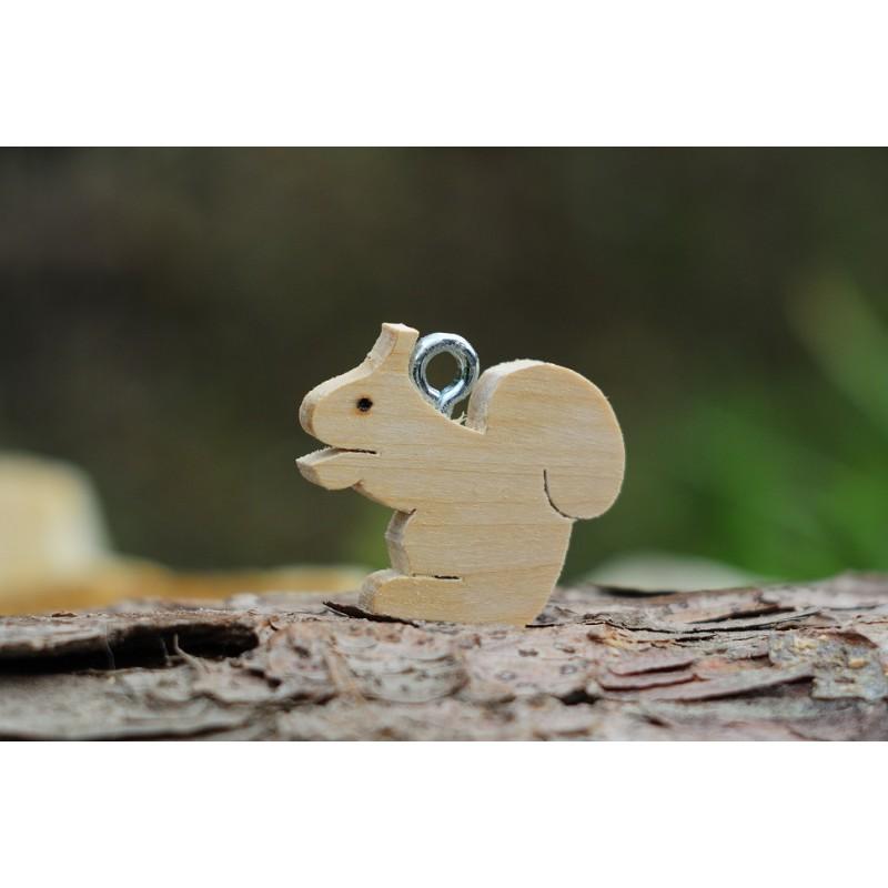 Klíčenka veverka