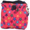 Pamlskovník softshell Hvězda růžový 15x15cm
