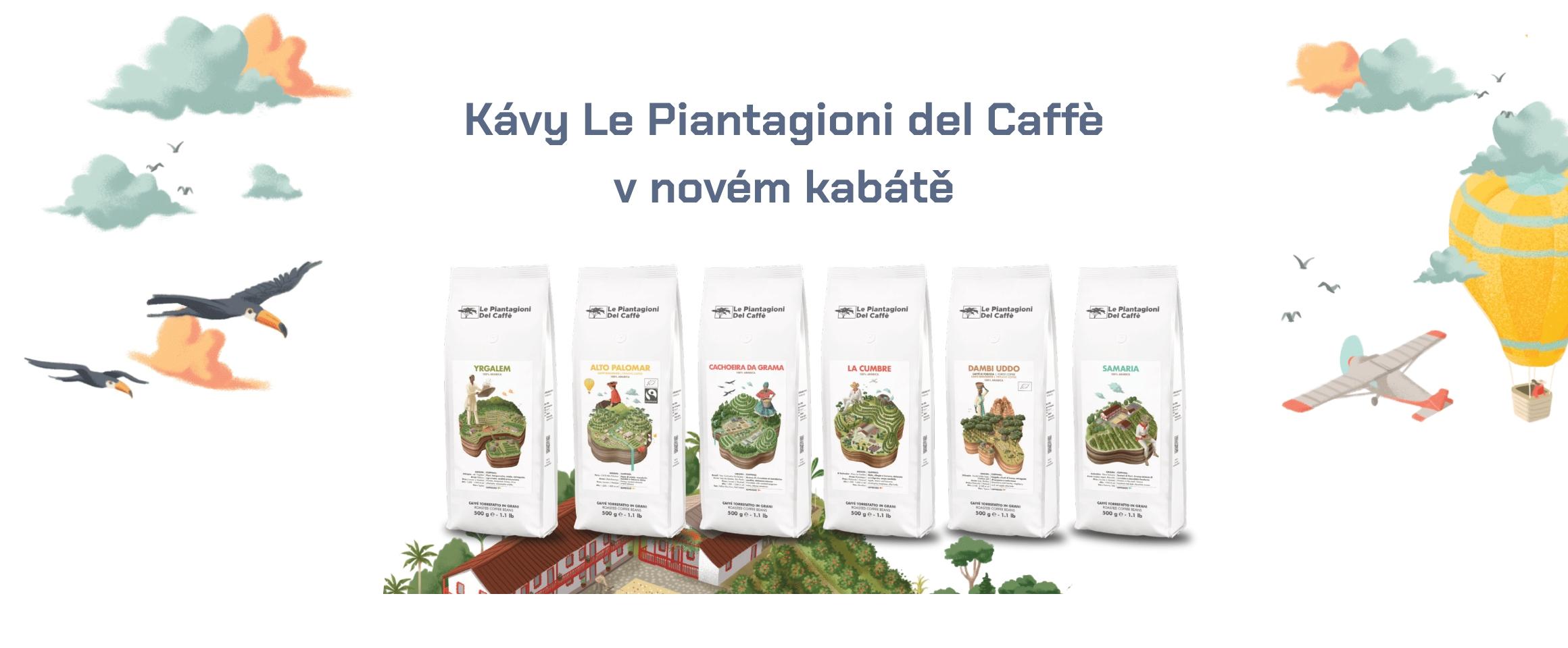 Káva Le Piantagioni del Caffè