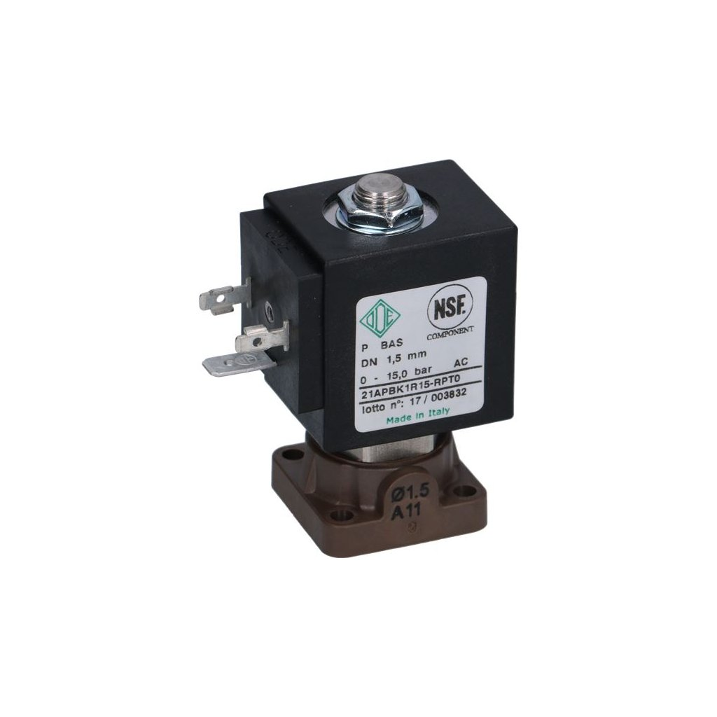 Solenoidní ventil ODE 2-cestný 24VAC 8W