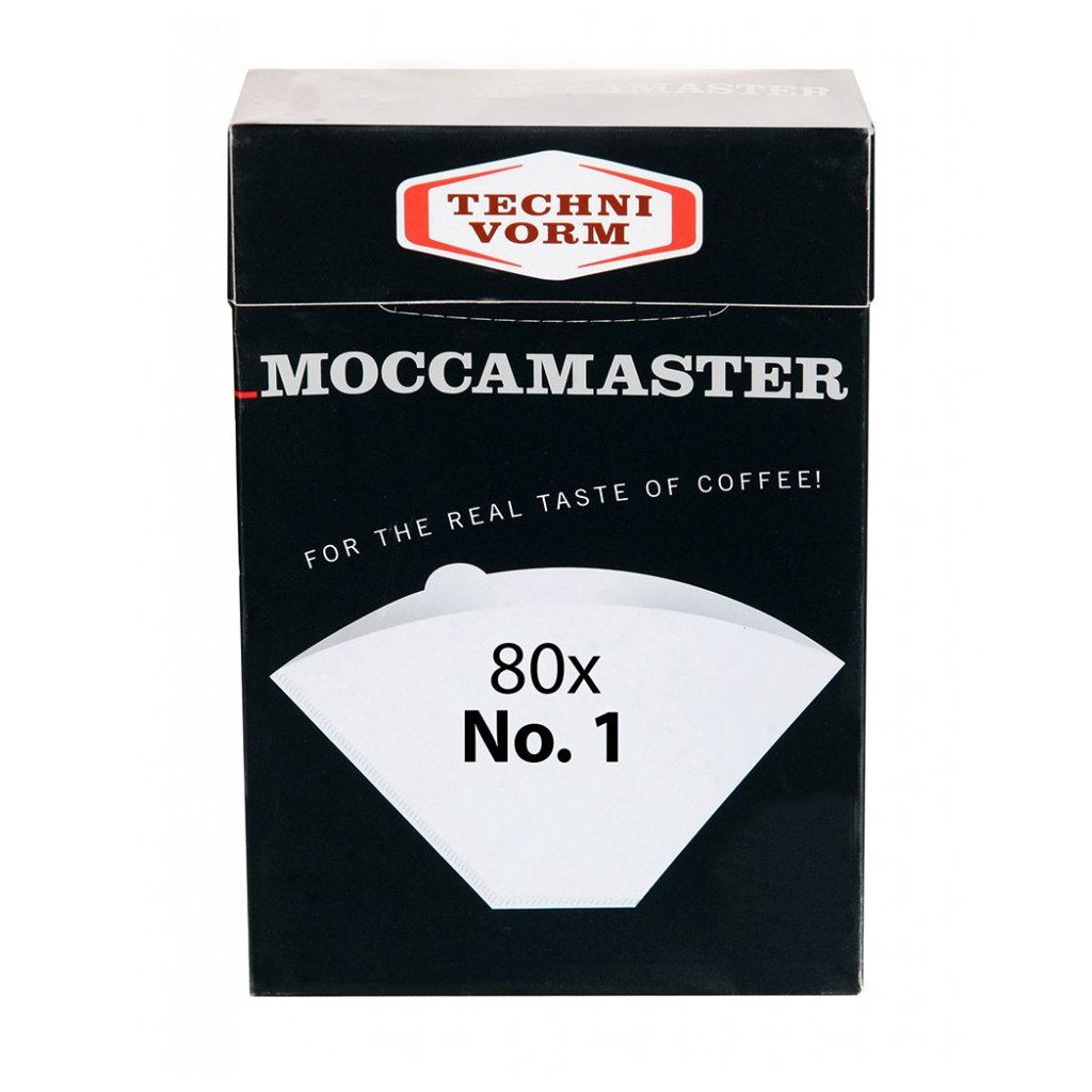 Moccamaster papírové filtry vel. 1 (80ks)