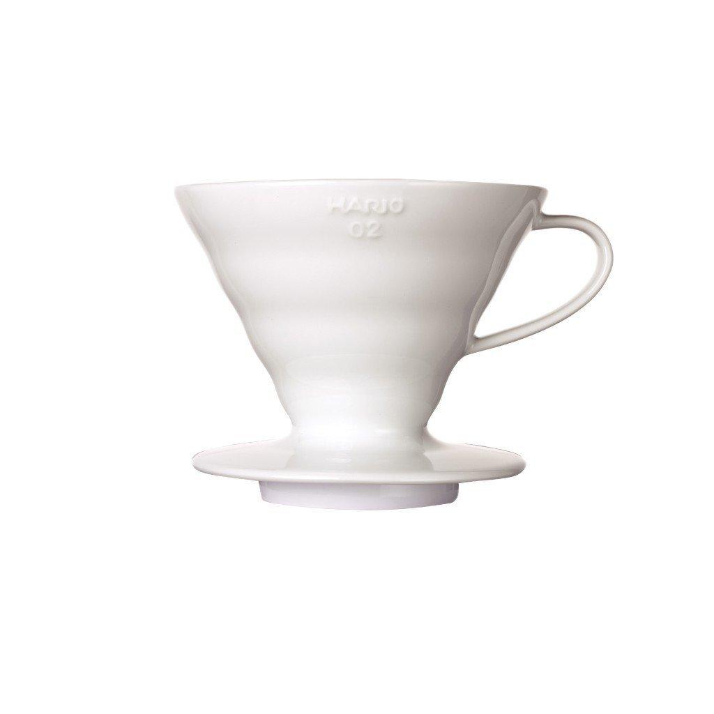 Dripper keramický - Hario V60-02 (bílý)
