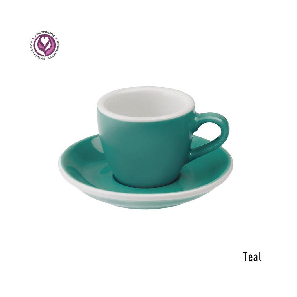 Espresso šálek - Loveramics Egg 80 ml (teal)