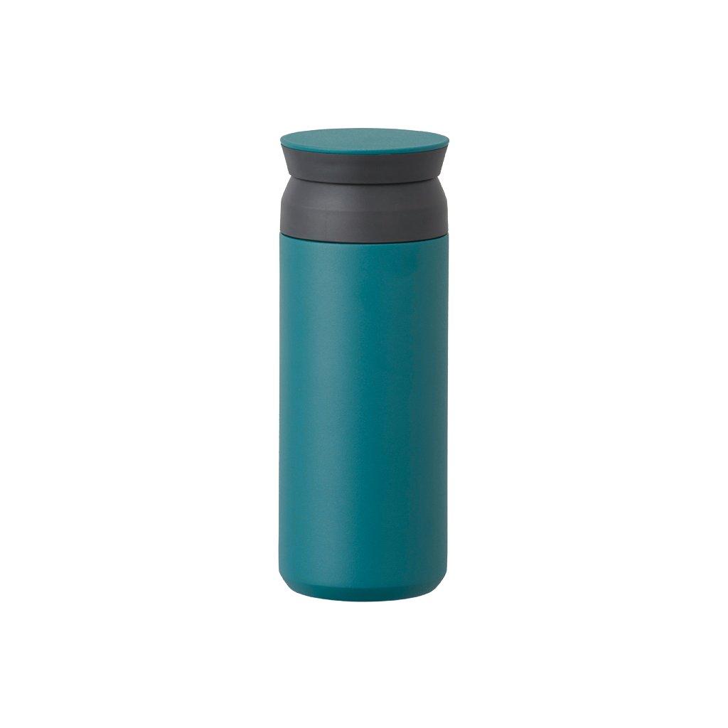 Travel Tumbler - Kinto 500 ml (tyrkysový)